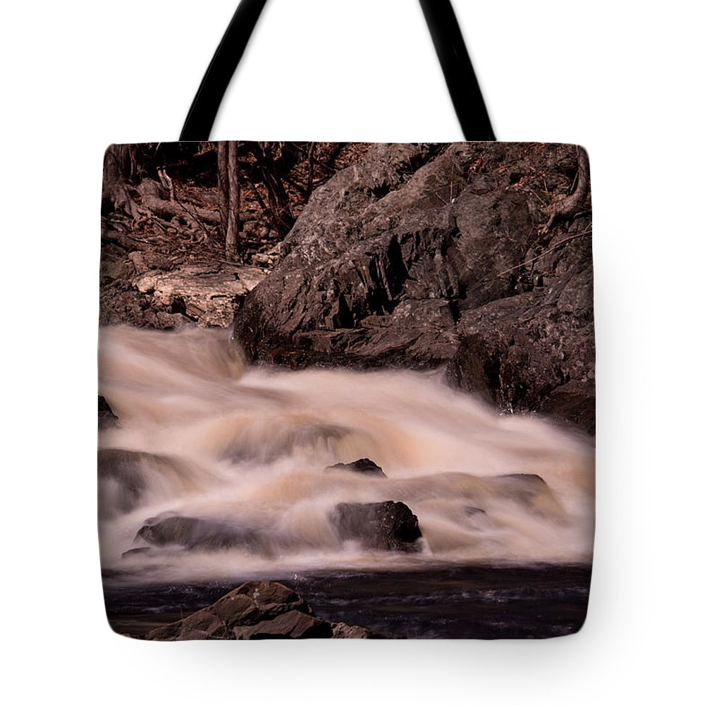Water Tote Bag featuring the photograph Waterfalls #1 by James Nalesnik