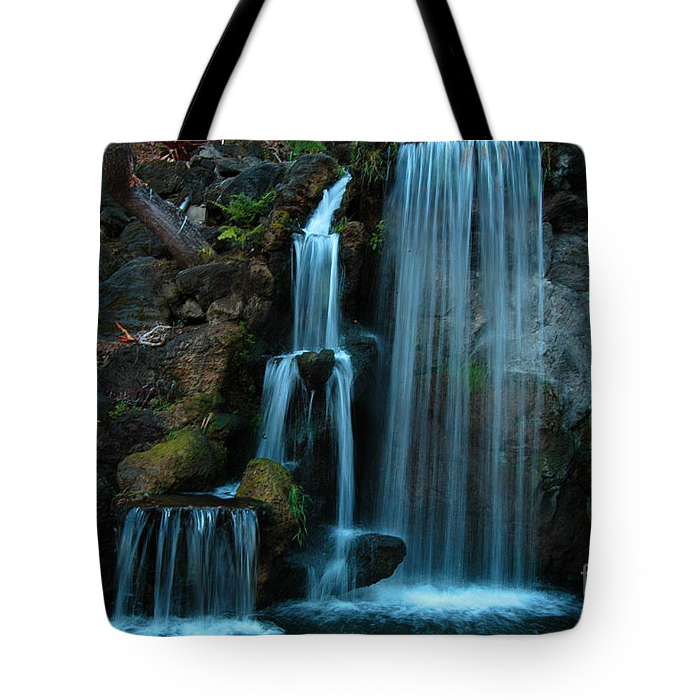 Clay Tote Bag featuring the photograph Waterfalls by Clayton Bruster