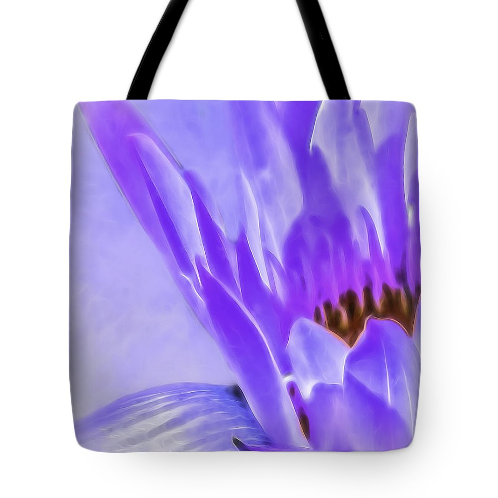 Water Lily Tote Bag featuring the photograph Waterlily Dreams by Cheryl Frischkorn