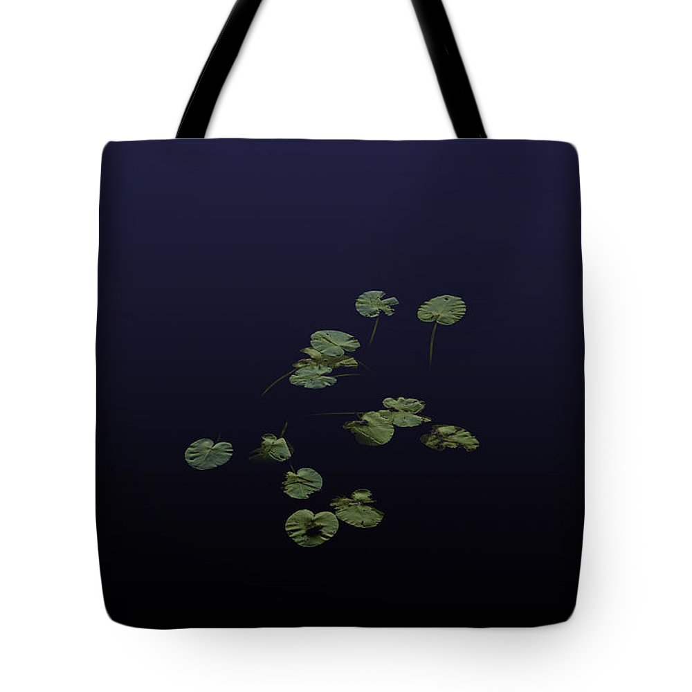 Waterlily Tote Bag featuring the photograph Waterlily Leaves by Laszlo Gyorsok