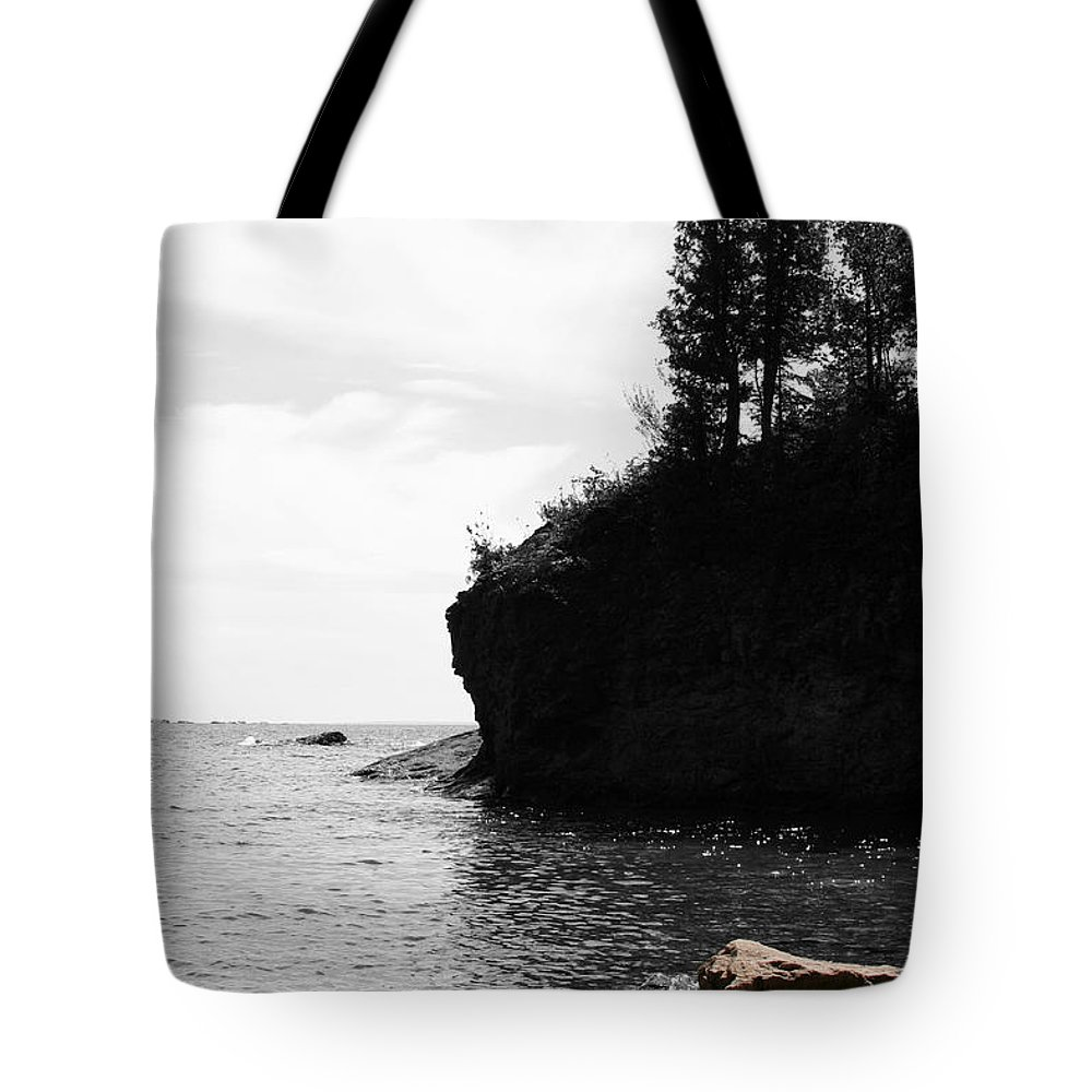 Water Tote Bag featuring the photograph Water's Edge by Dylan Punke