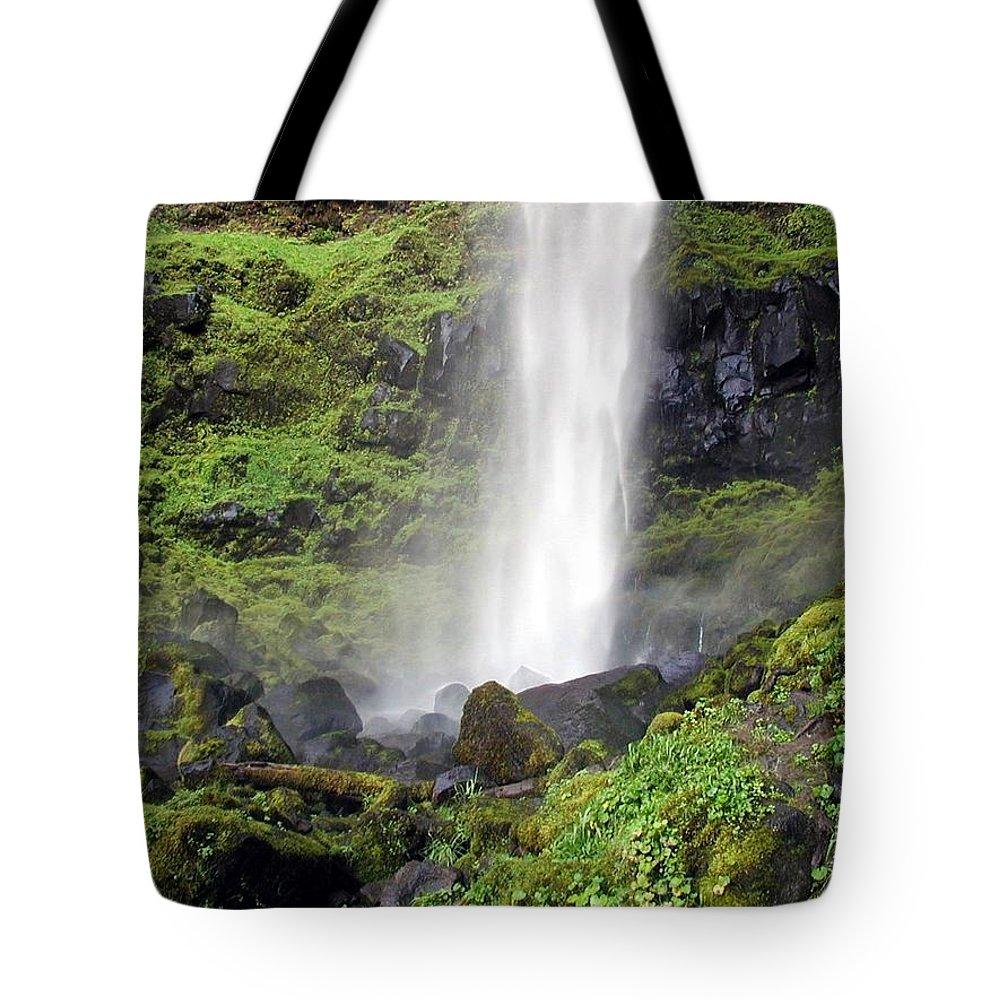 Oregon Tote Bag featuring the photograph Watson Falls by Rich Bodane