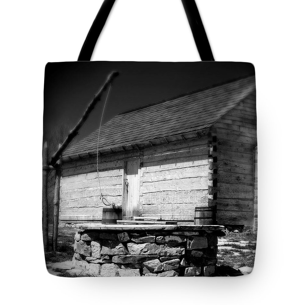 Army Tote Bag featuring the photograph Way Station French And Indian War by Jean Macaluso