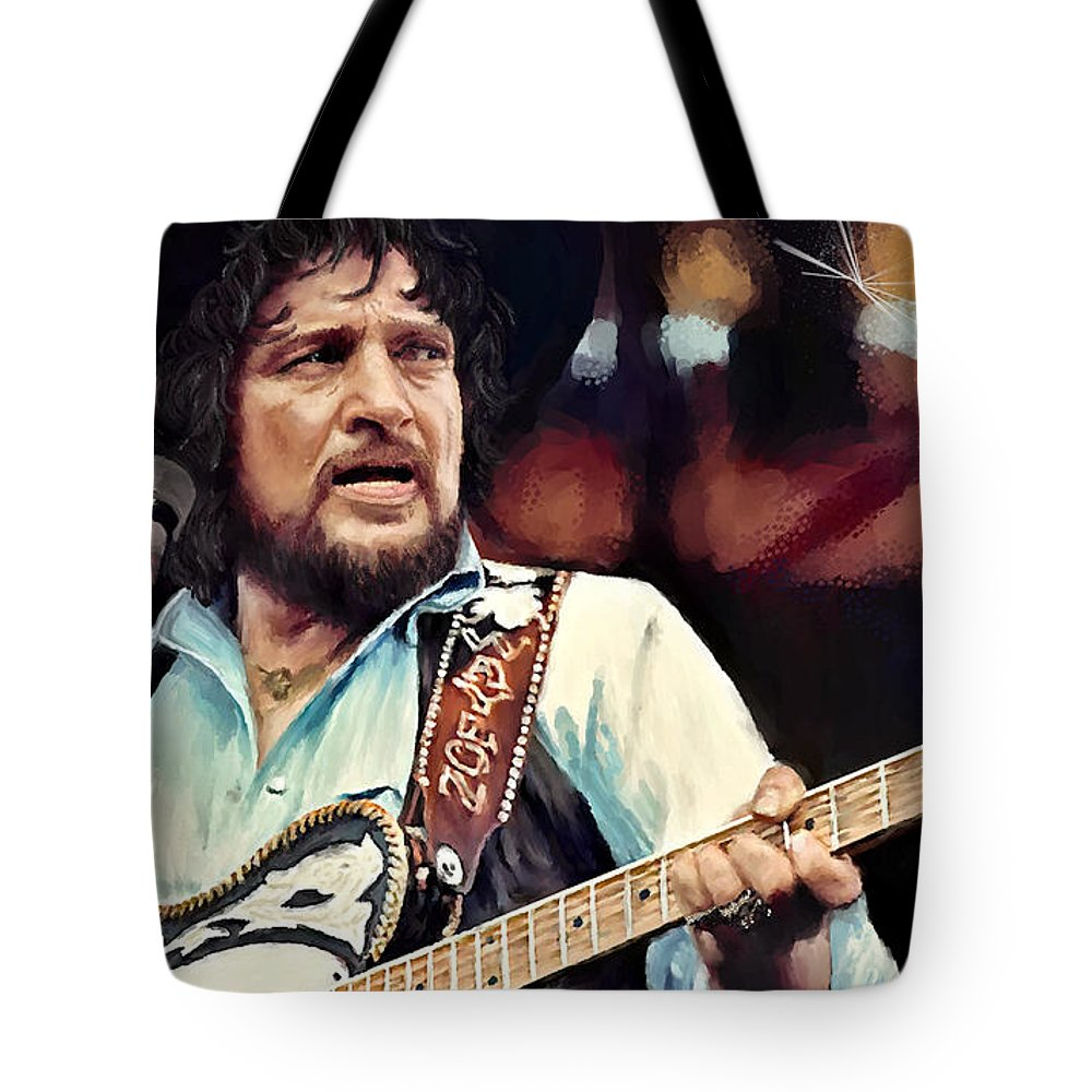 Corel Painter 18 Tote Bag featuring the digital art Waylon by Susan Kinney