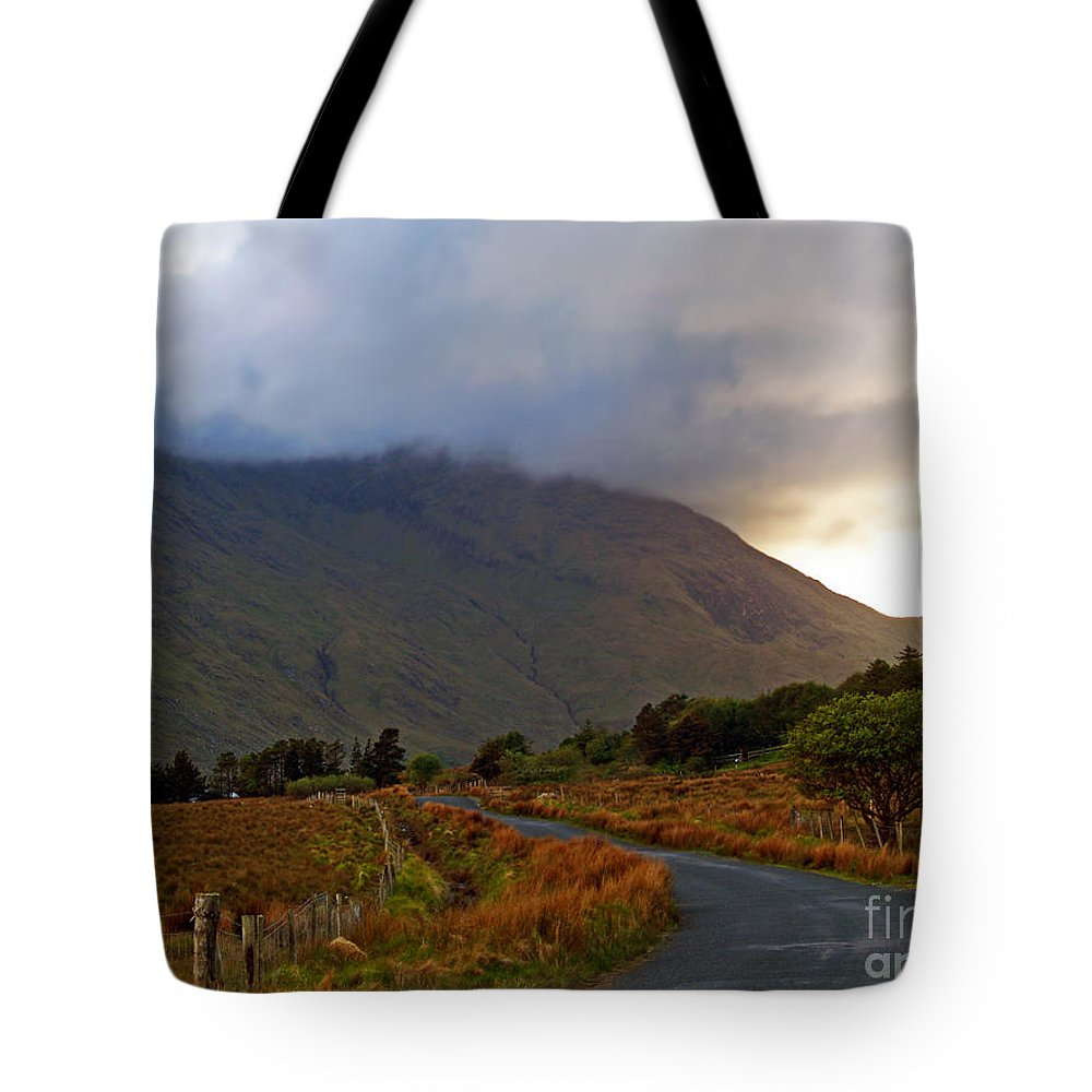 Fine Art Photography Tote Bag featuring the photograph We Took The Road Less Traveled by Patricia Griffin Brett
