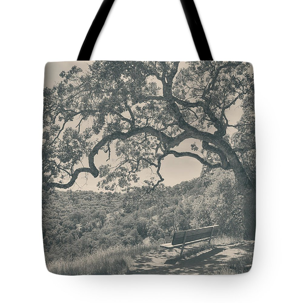 Henry Coe State Park Tote Bag featuring the photograph Weary by Laurie Search