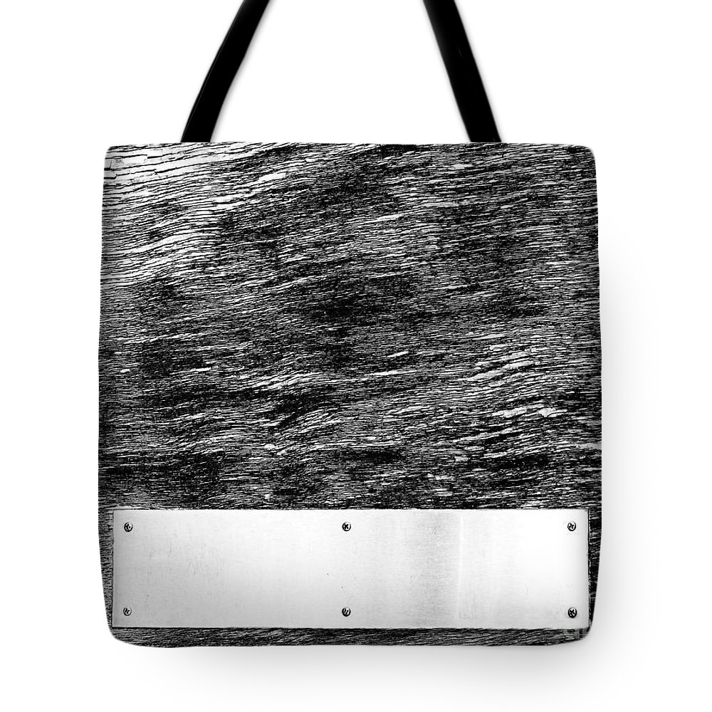 Dipasquale Tote Bag featuring the photograph Weathered by Dana DiPasquale