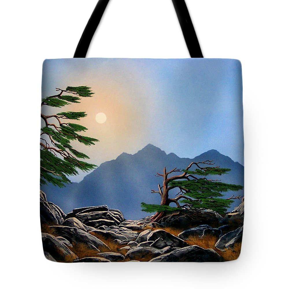 Weathered Warriors Tote Bag featuring the painting Weathered Warriors by Frank Wilson