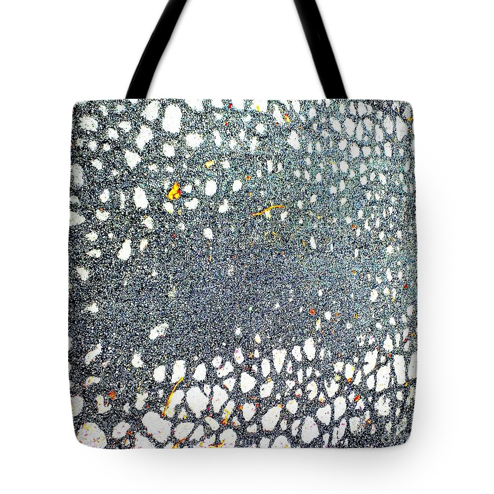 Road Tote Bag featuring the photograph Web by Lizi Beard-Ward