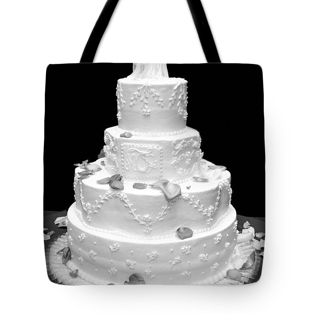Wedding Tote Bag featuring the photograph Wedding Cake by Marilyn Hunt