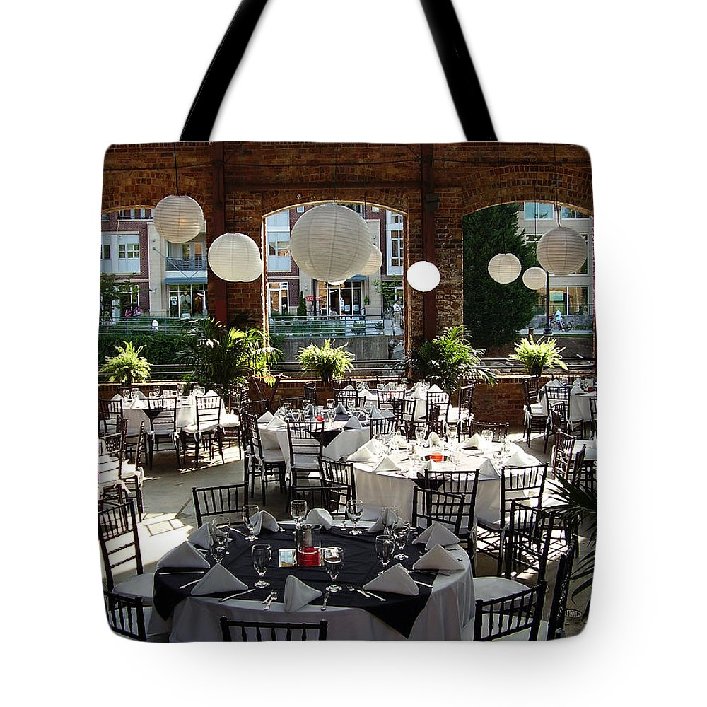 Markley Carriage Tote Bag featuring the photograph Wedding by Flavia Westerwelle