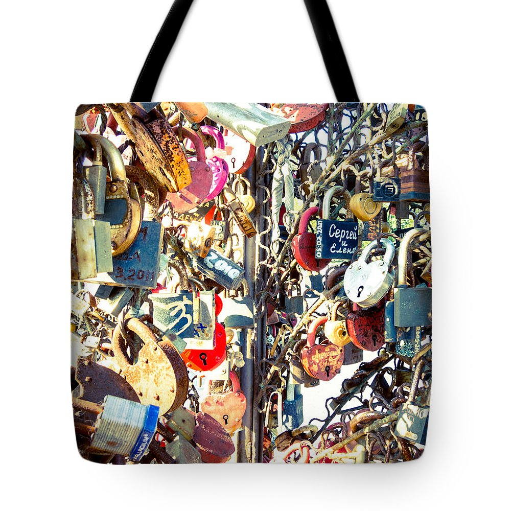 Europe Tote Bag featuring the photograph Wedlocked by Alexey Stiop