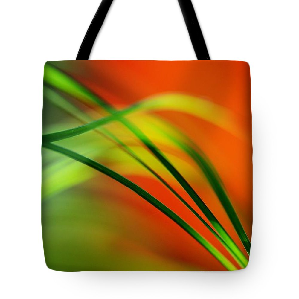 Macro Tote Bag featuring the photograph Weeds by Catherine Lau