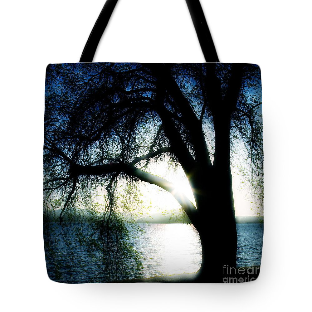 Weesping Tote Bag featuring the photograph Weeping by Idaho Scenic Images Linda Lantzy