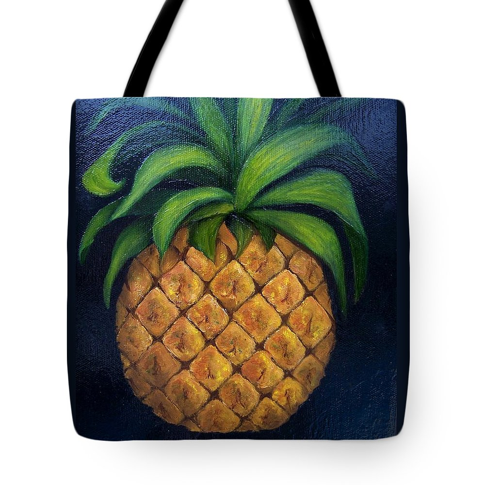 Still Life Tote Bag featuring the painting Welcome    by Susan Dehlinger