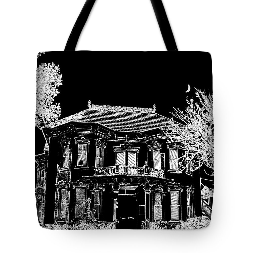 Welcome Home Tote Bag featuring the digital art Welcome Home 4 by Will Borden