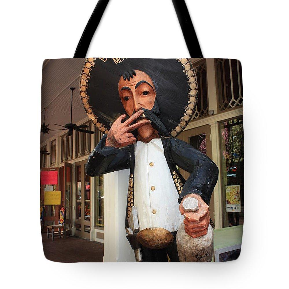 El Mercado Tote Bag featuring the photograph Welcome To El Mercado by Carol Groenen