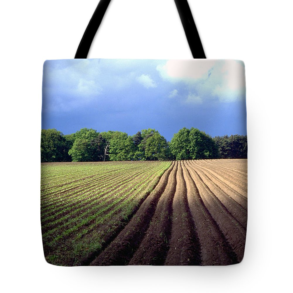 Wendland Tote Bag featuring the photograph Wendland by Flavia Westerwelle