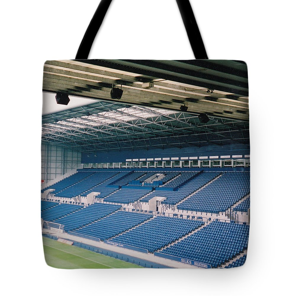Tote Bag featuring the photograph West Bromwich Albion - The Hawthorns - East Stand 1 - August 2003 by Legendary Football Grounds