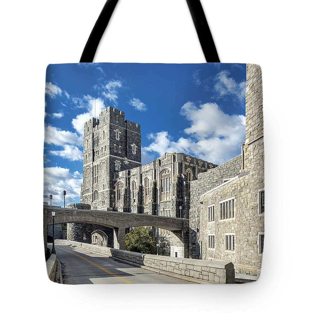 American Tote Bag featuring the photograph West Point Military Academy by John Greim
