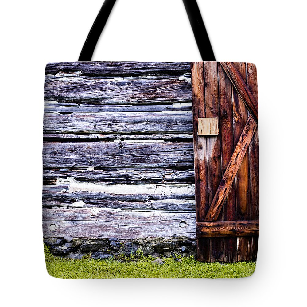Western Door Tote Bag featuring the photograph Western Door by M G Whittingham