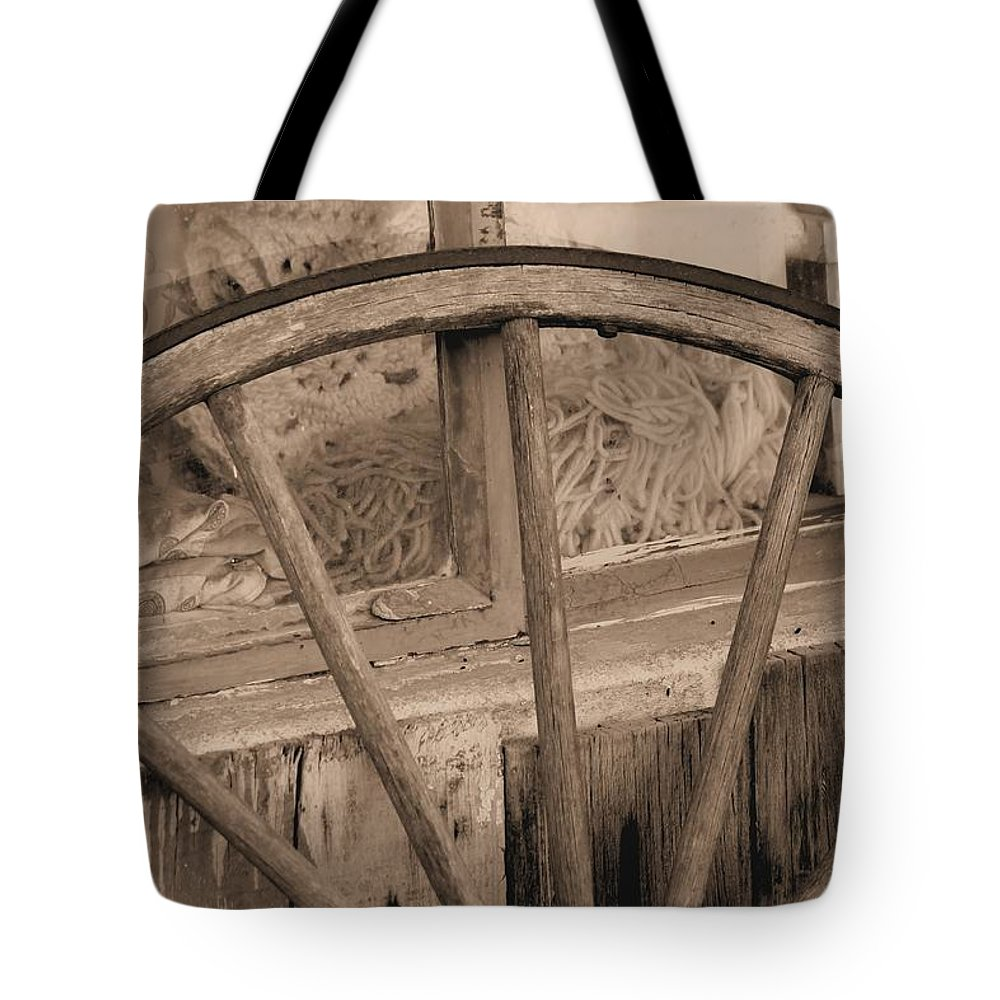 Windows Tote Bag featuring the photograph Western Window by G Berry