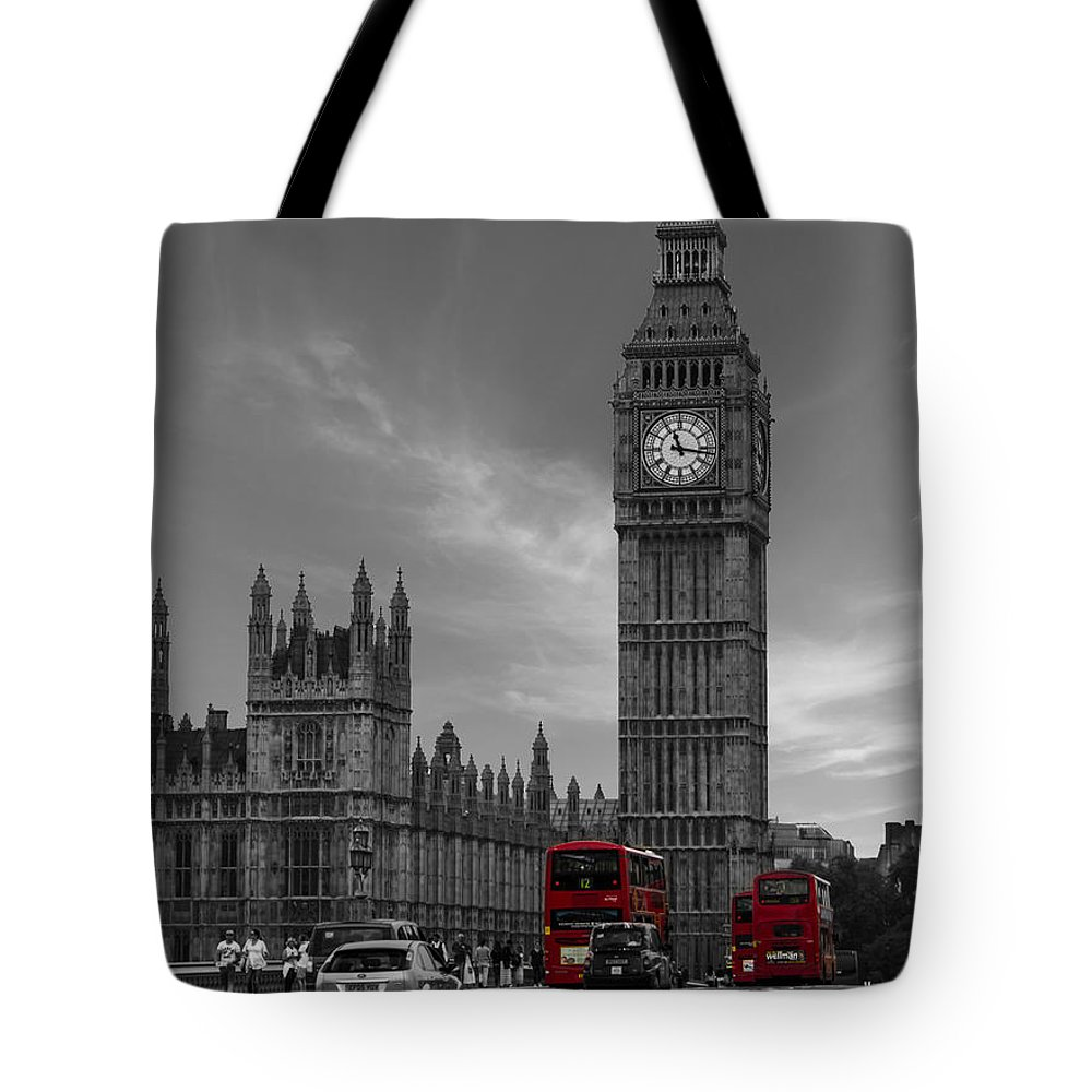 Westminster Bridge Tote Bag featuring the photograph Westminster Bridge by Martin Newman