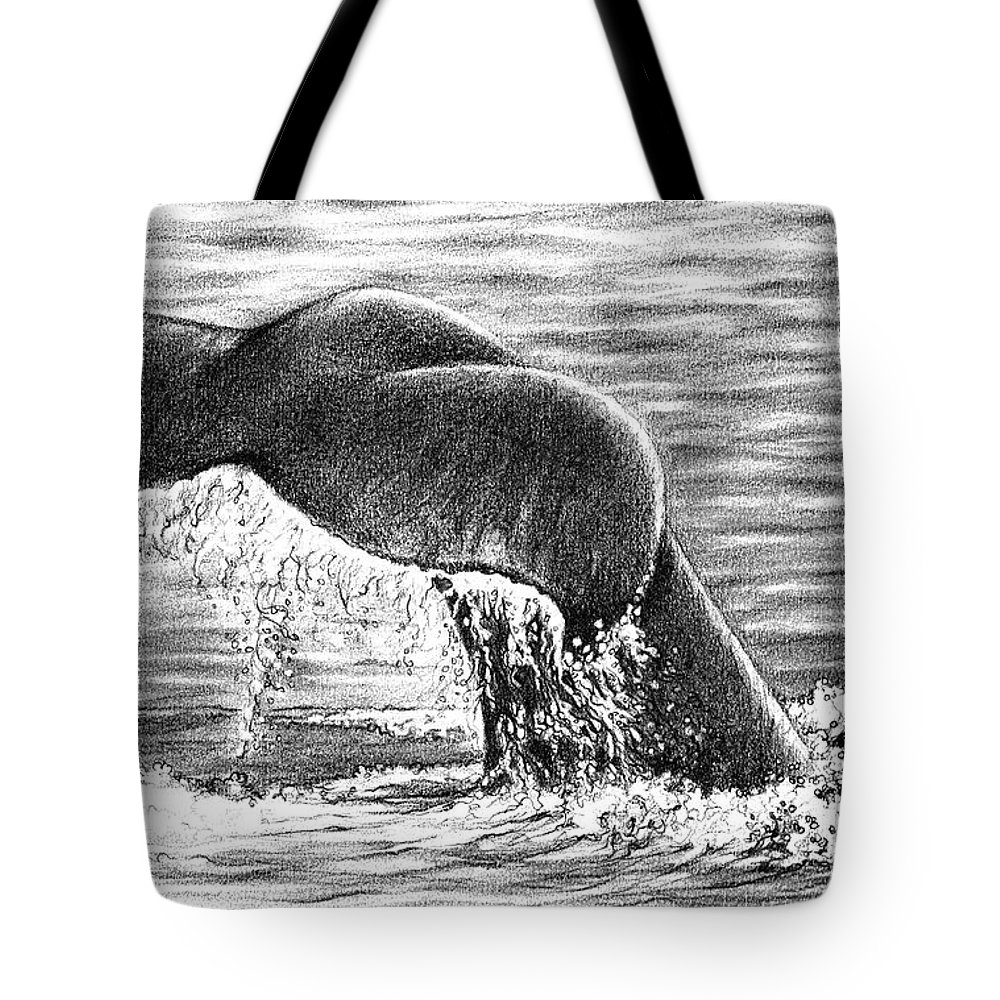 Whale Tail Tote Bag For Sale By Heidi Kriel
