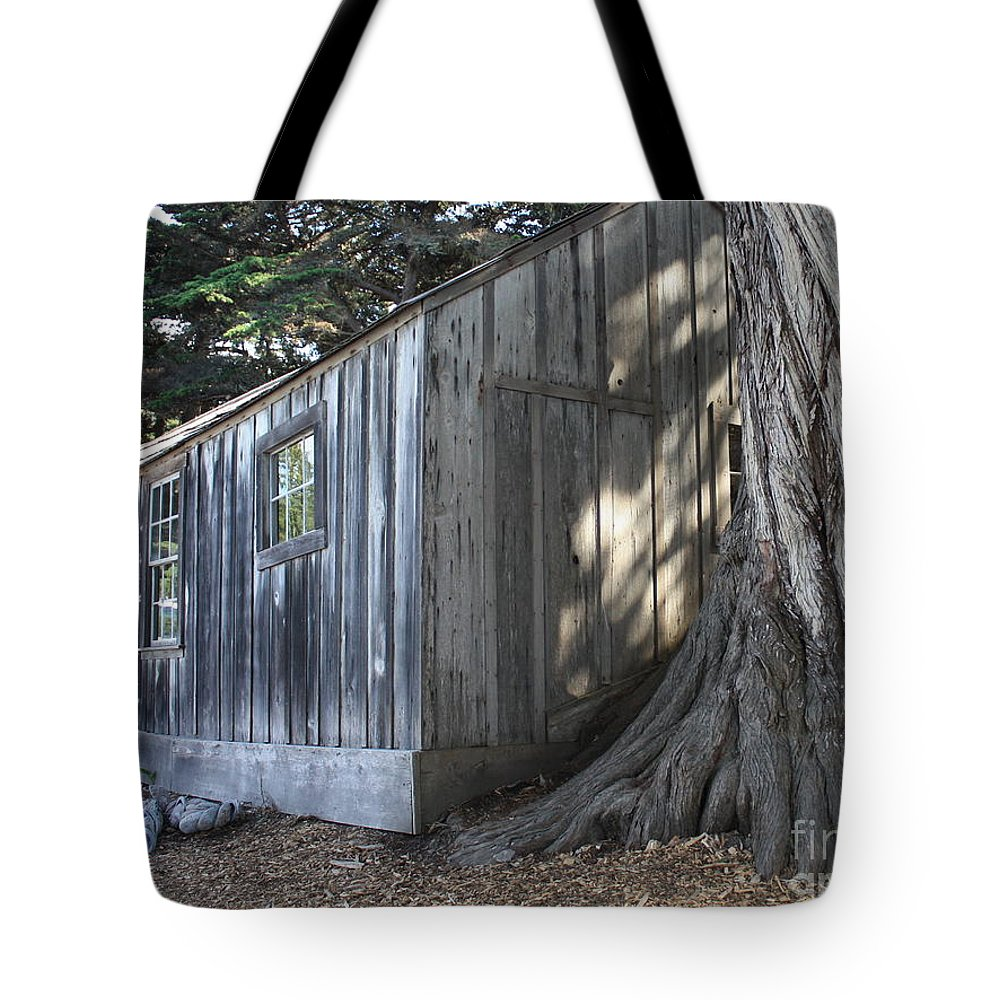 Tote Bag featuring the photograph Whalers Cabin by Carol Groenen