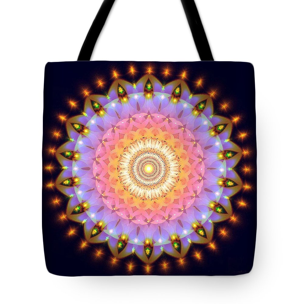 Love Tote Bag featuring the digital art What Is Love by Hooshmand Kalayeh