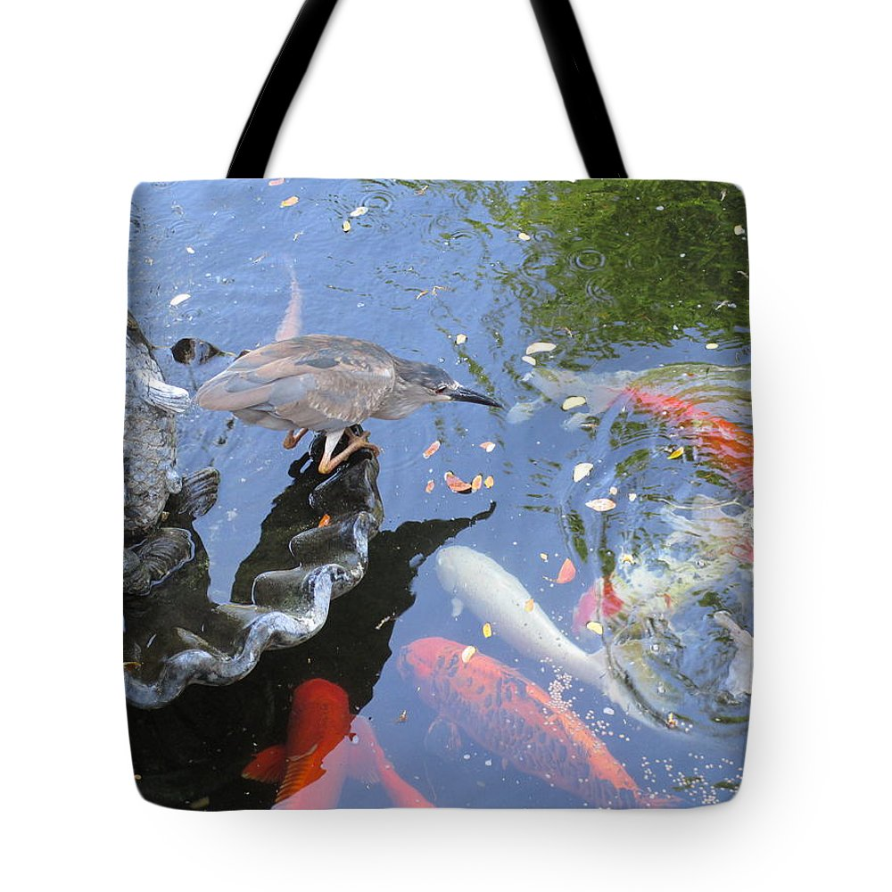 Elaine Haakenson Tote Bag featuring the photograph Whats For Dinner by Elaine Haakenson