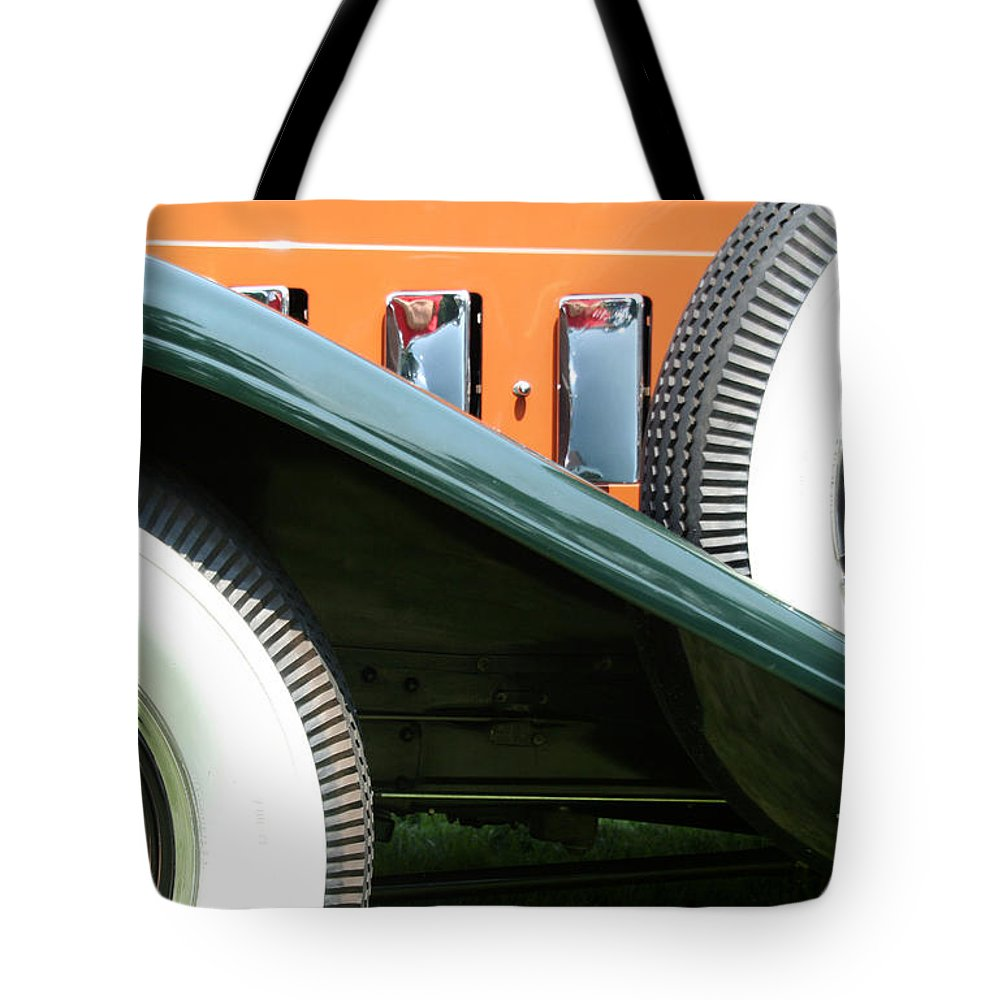 Car Tote Bag featuring the photograph Wheels by Crystal Nederman
