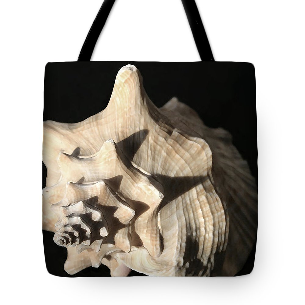 Shells Tote Bag featuring the photograph Whelk by Mary Haber