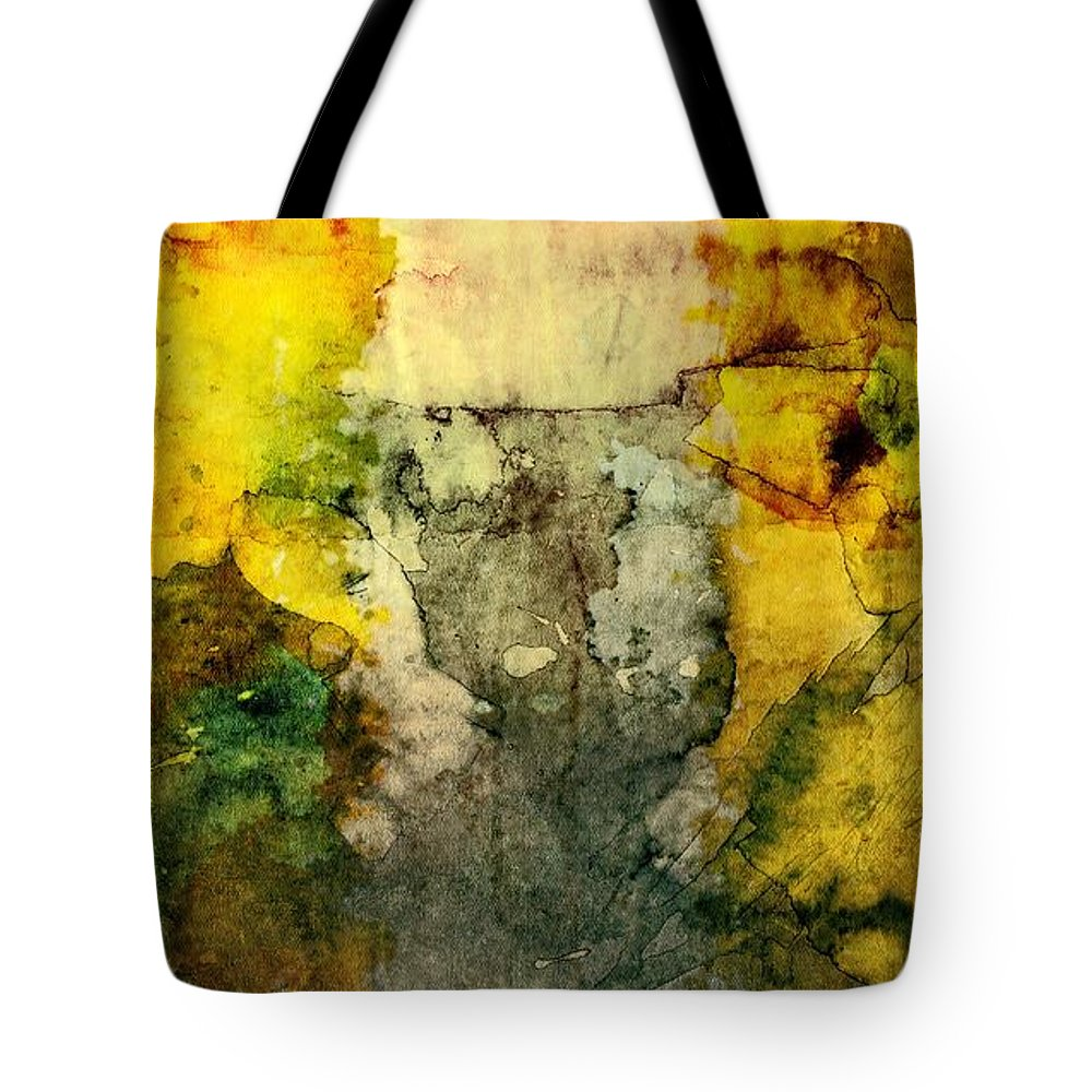 Brett Tote Bag featuring the digital art When Clouds Become Cages by Brett Pfister
