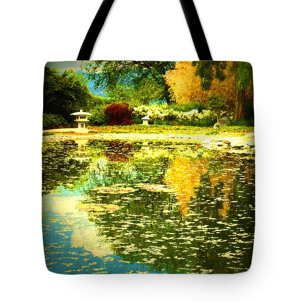 Trees Tote Bag featuring the photograph When I Dream Of Spring by Tara Turner