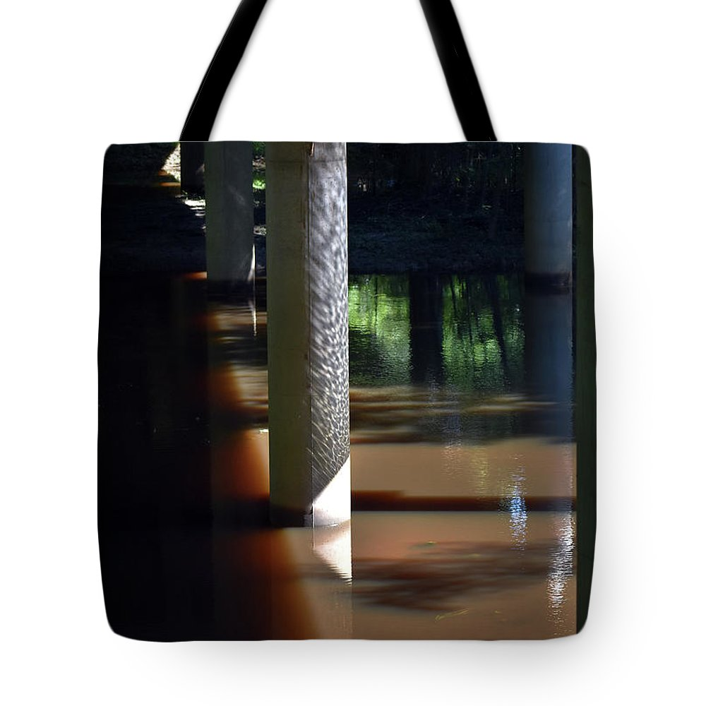 Scenic Tote Bag featuring the photograph When The Light Doesn't Reach by Skip Willits