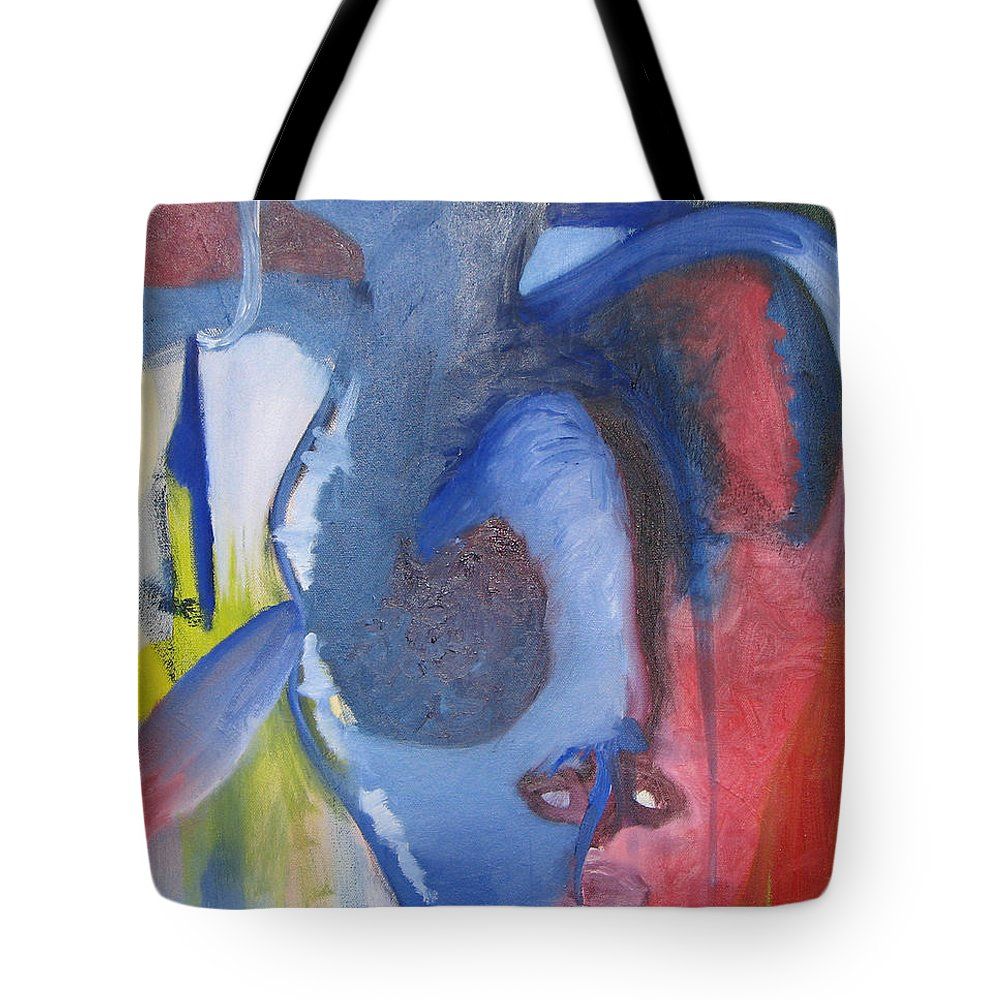 Mike Mooney Tote Bag featuring the painting Where Do The Dreams Come From II by Michael Mooney