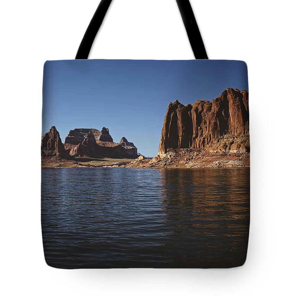 Lake Powell Tote Bag featuring the photograph Where I Belong by Lucinda Walter