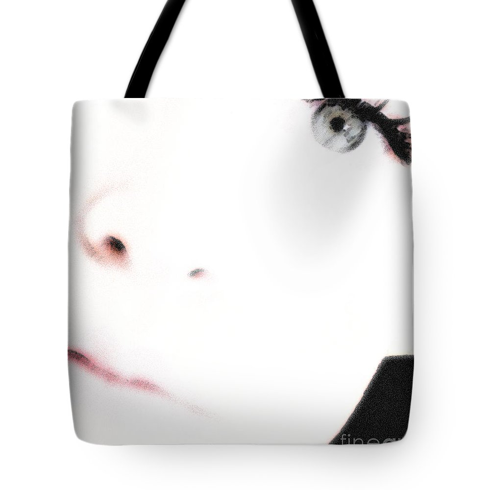 Face Tote Bag featuring the photograph Where Is The Soul by Amanda Barcon