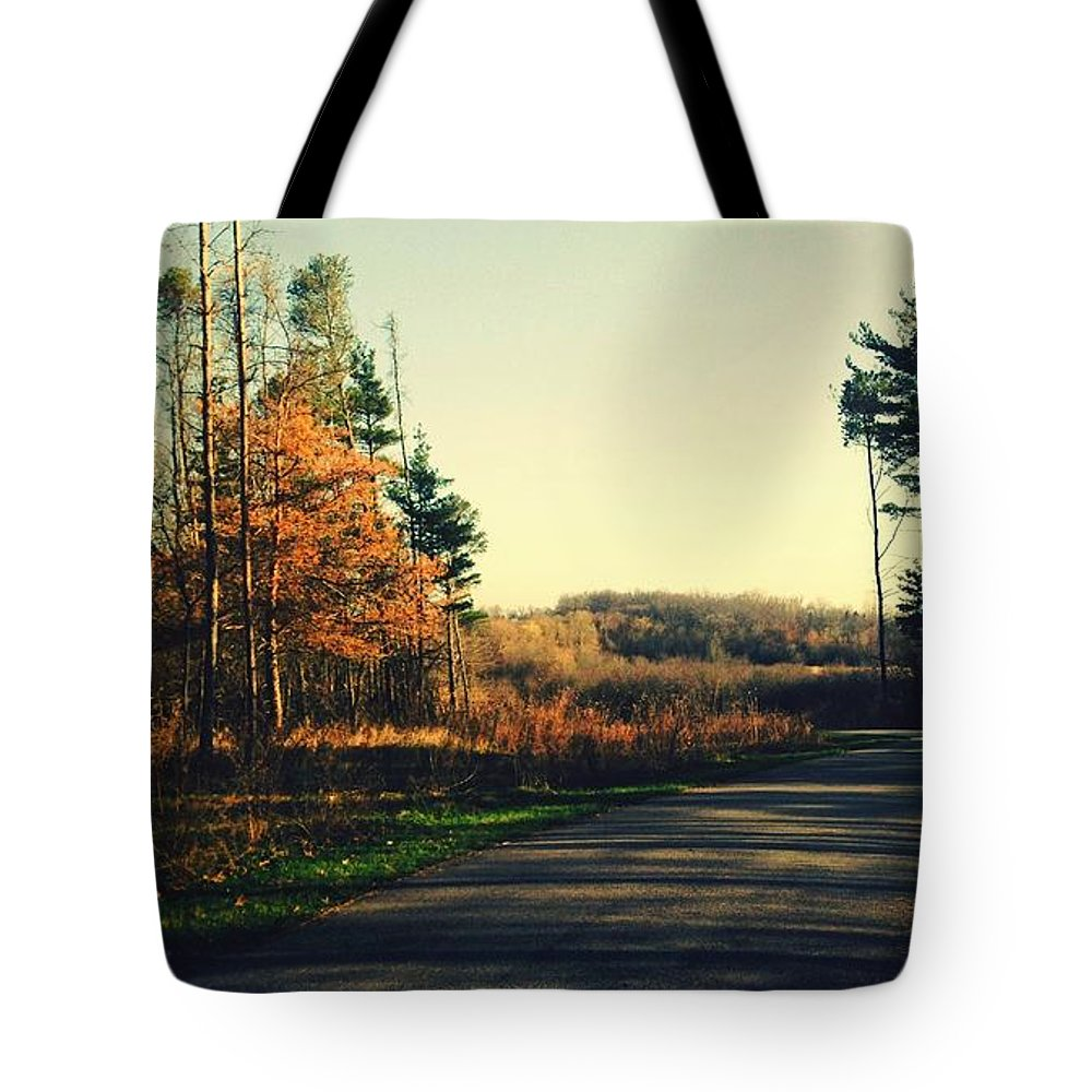 Landscape Tote Bag featuring the photograph Where Will You Go? by Devin Dixon