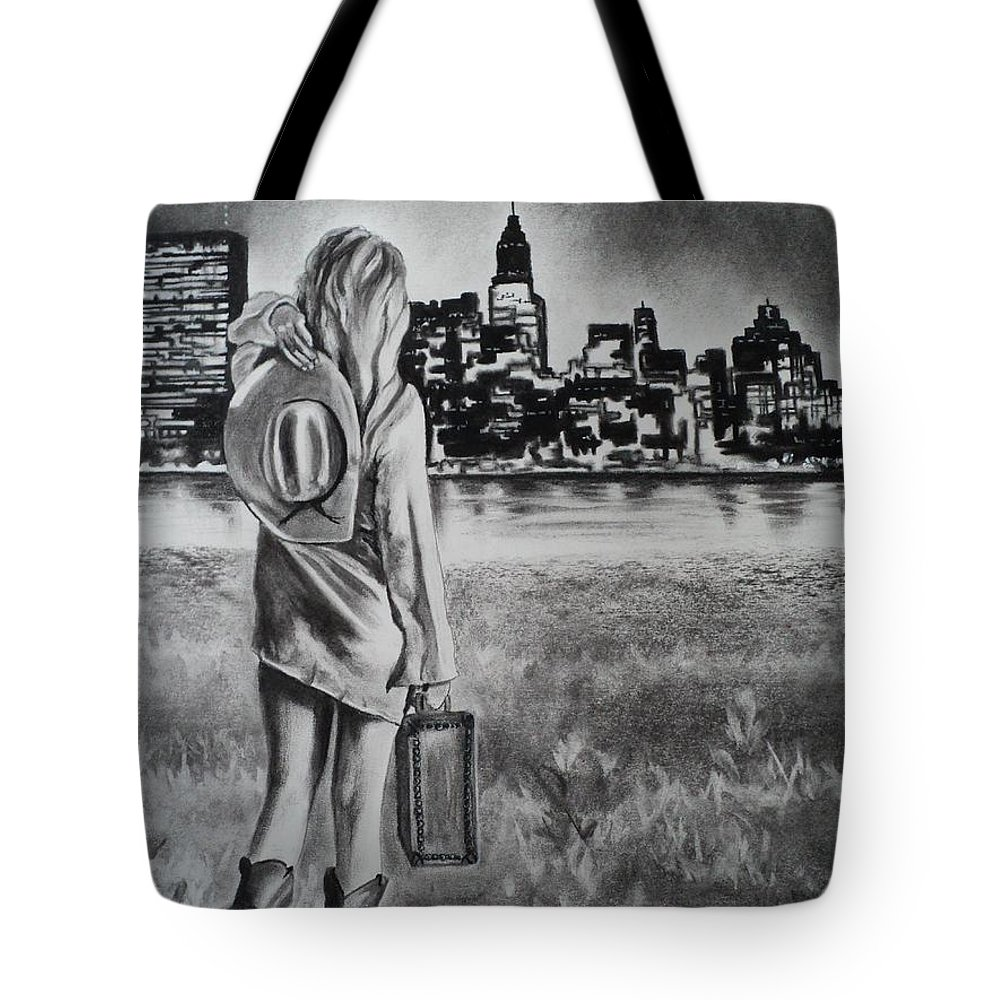 Dreams Tote Bag featuring the drawing Wherever Your Dreams May Take You by Carla Carson
