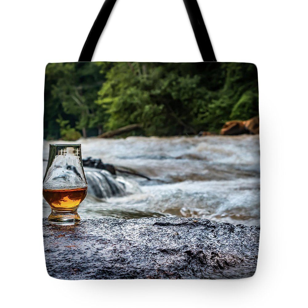 River Tote Bag featuring the photograph Whisky River by Ant Pruitt