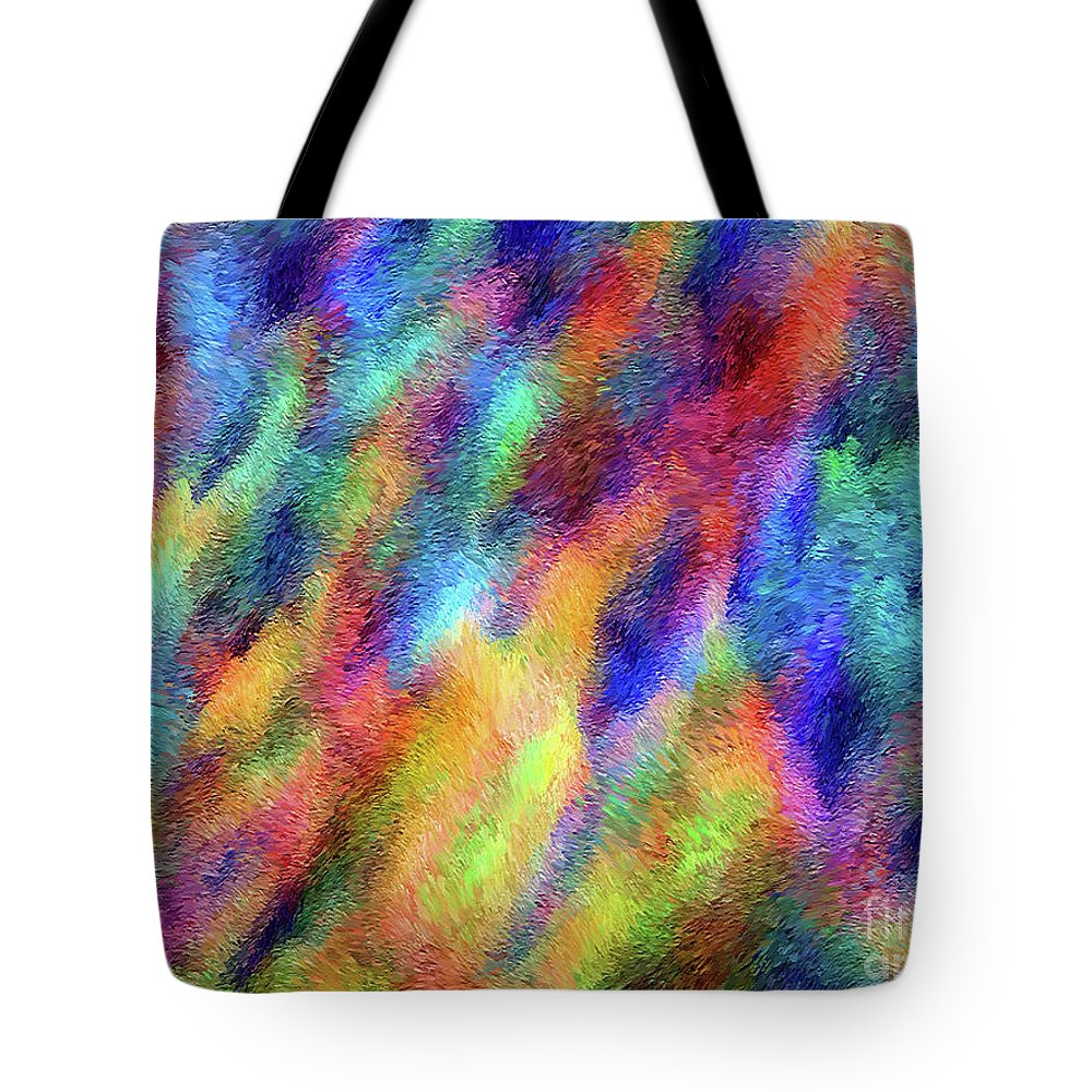 People Tote Bag featuring the digital art Whispers by The Art Vessel