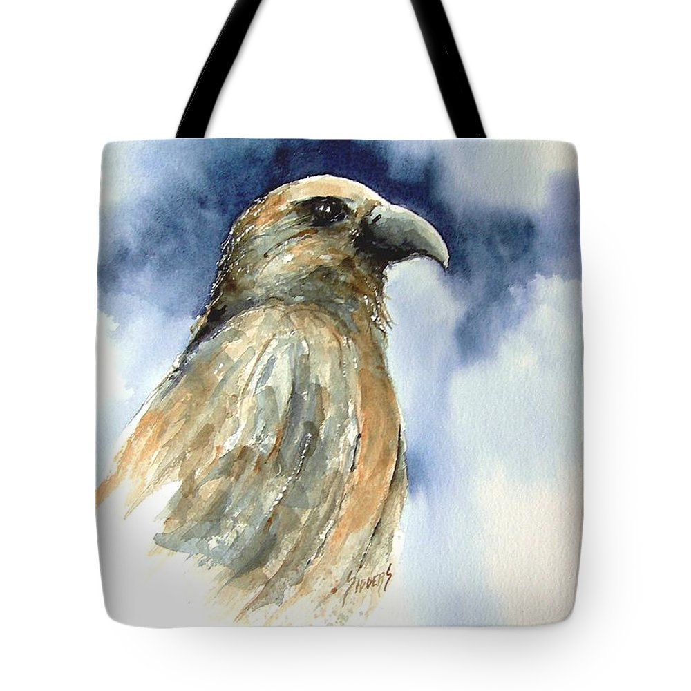 Falcon Tote Bag featuring the painting Whistler by Sam Sidders