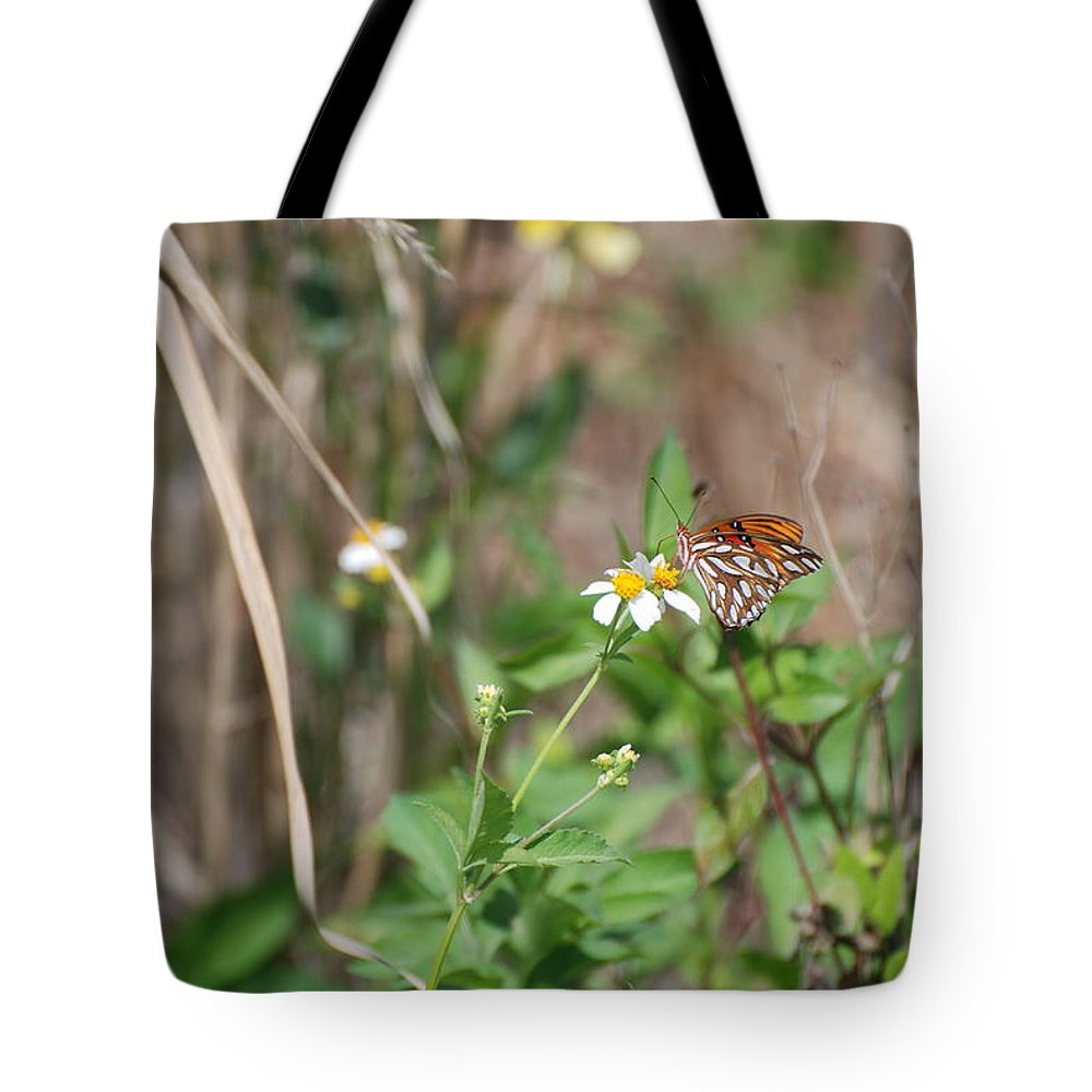 Butterfly Tote Bag featuring the photograph White Butterfly by Rob Hans