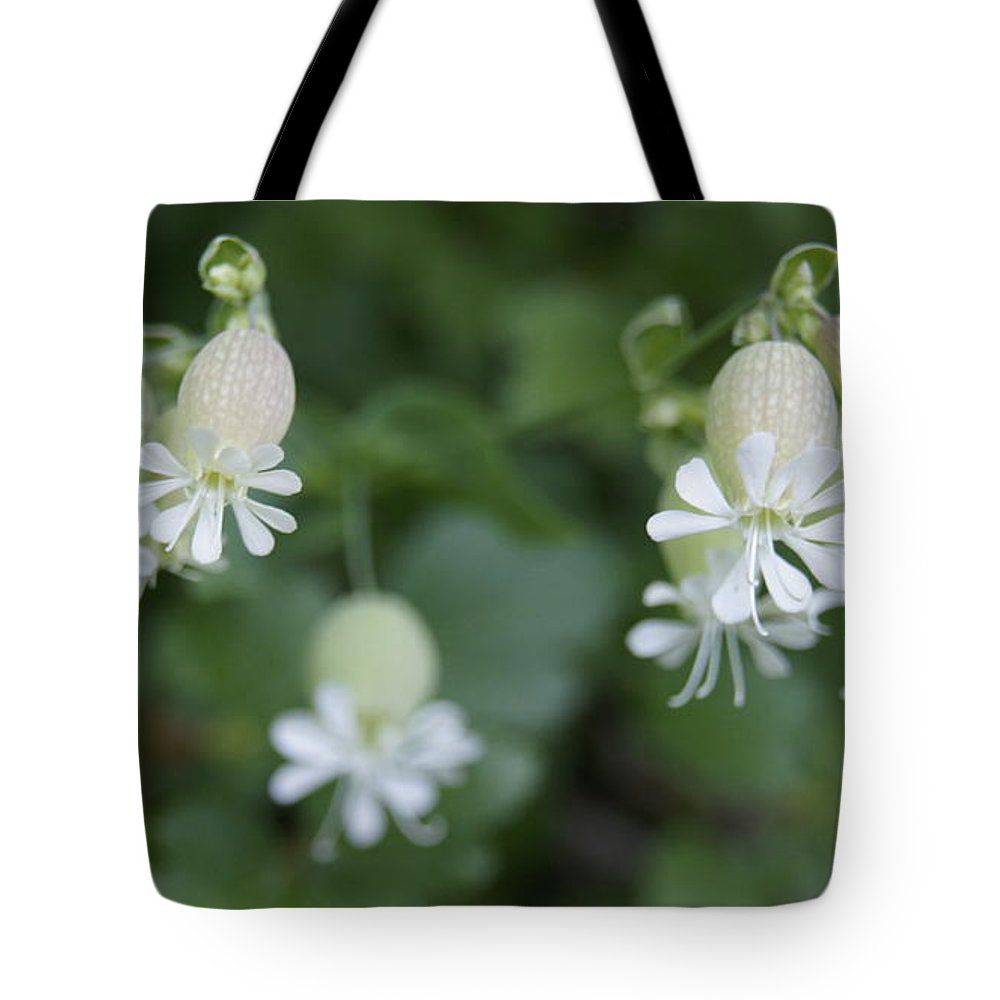 Cmouai Tote Bag featuring the photograph White Flowers by Line Gagne
