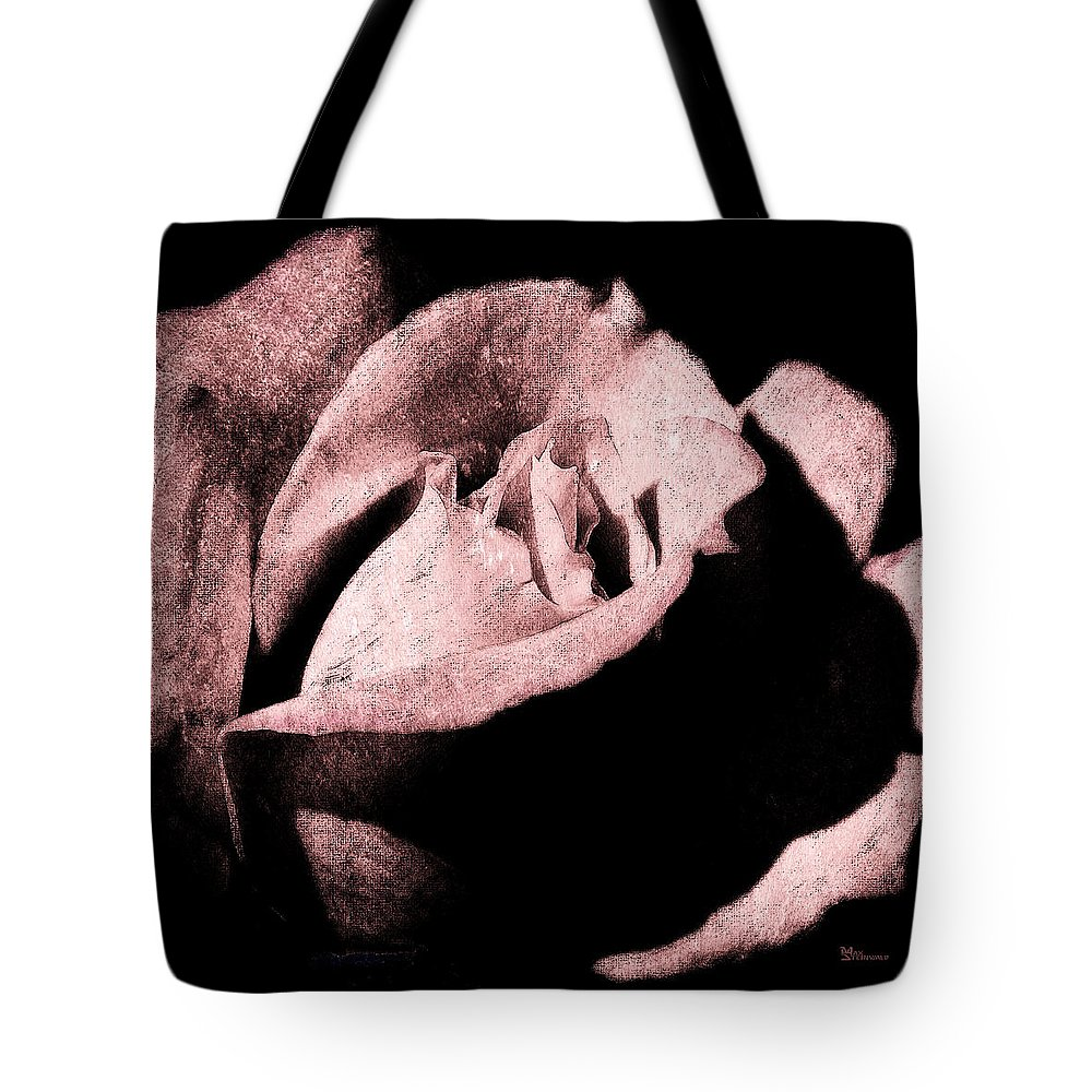 Antique Pink Tote Bag featuring the digital art White Queen by Max Steinwald