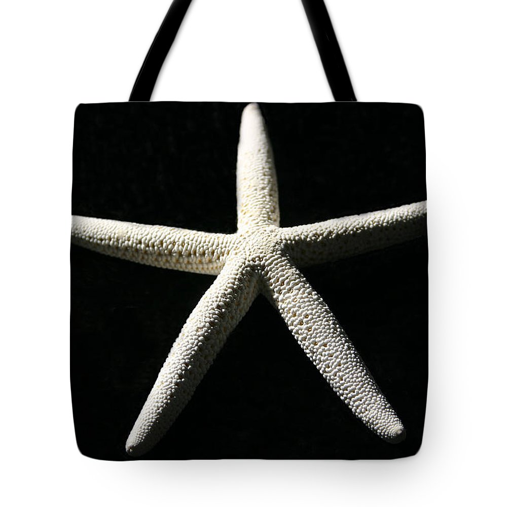 Shells Tote Bag featuring the photograph White Star by Mary Haber