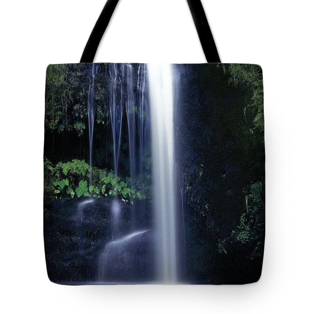Active Tote Bag featuring the photograph Whitewater Action by Don King - Printscapes