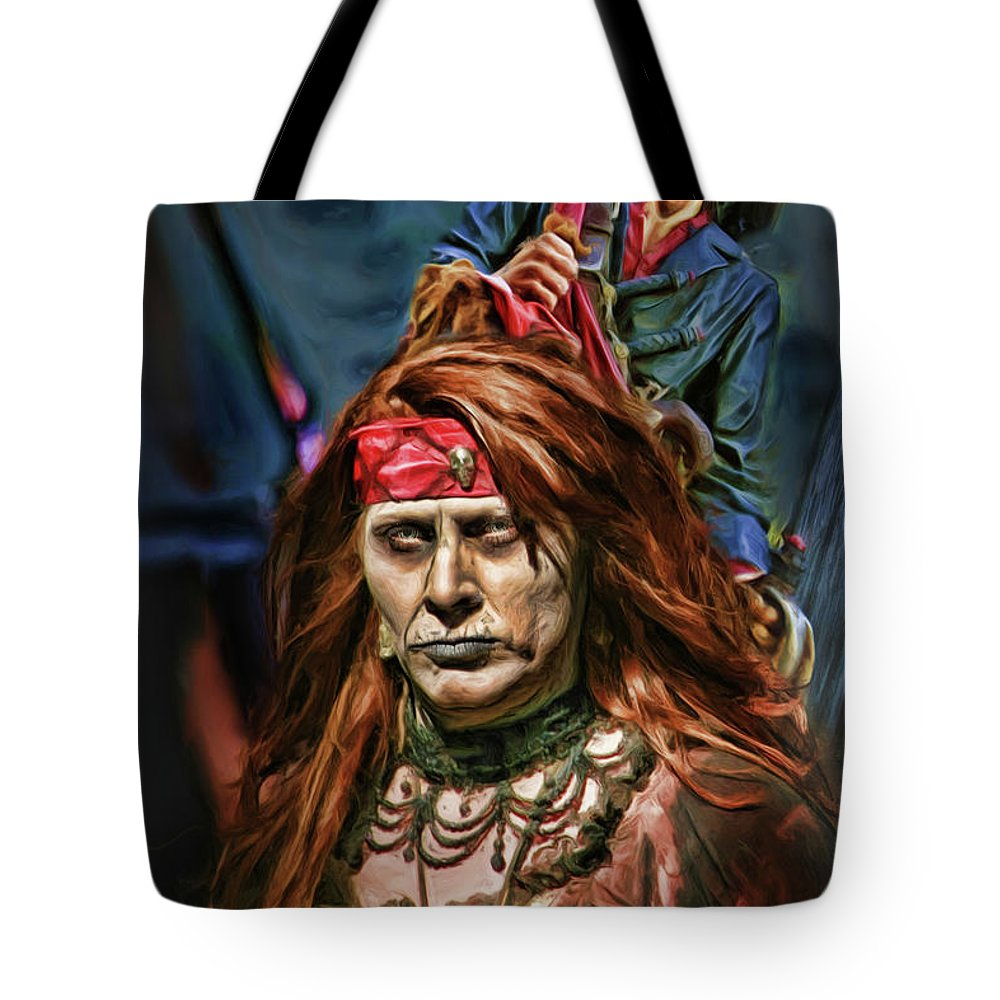 Tote Bag featuring the photograph Wicked Couple by Blake Richards